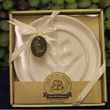 Artisano:  White Round Appetizer Plate