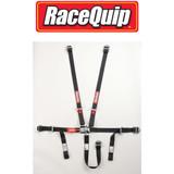 RaceQuip 709009 Junior Racing Harness SFI 16.1 Certified Black 5 point Seatbelt