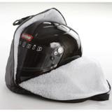 RaceQuip 300003  Heavy Duty Oversize Fleece Lined Zippered Helmet Bag; Black