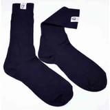 RaceQuip 411995 SFI 3.3 Fire Retardant (FR) Socks Large -Shoe Size 10-11 Black