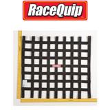 RaceQuip 726007 Ribbon Style Race Car Window Net SFI 27.1; Black 21 H X 24 W