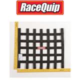 "Racequip 726001 Window Net Ribbon Rectangle 18"" x 15"" Black SFI 27.1 Each"