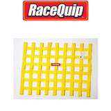 RaceQuip 725035 Ribbon Style Race Car Window Net SFI 27.1; Yellow 18 H X 24 W