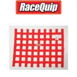 Racequip 725015 SFI Ribbon Style Window Net Red 18 H X 24 W