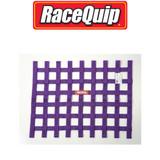 RaceQuip 725055 Ribbon Style Race Car Window Net SFI 27.1; Purple 18 H X 24 W