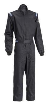 SPARCO 001051D4XLNR SFI 3.2A/1 Racing Suit Driver Single Layer - XL Black