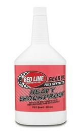 REDLINE OIL 58204 Heavy Shock Proof Gear Oil 1 Quart 75W250