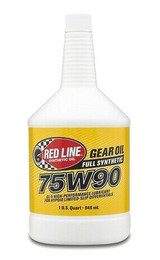 Red Line Oil 57904 75W90 Gear Oil Synthetic GL-5 Differential Gear Oil 1 Quart