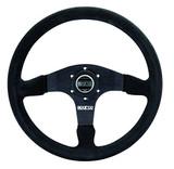SPARCO 015R375PSN R375 Black Aluminum 350 mm Diameter Steering Wheel