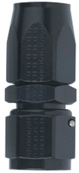 Fragola Performance Systems 100120-BL #20 STRAIGHT, POWER FLOW HOSE END, BLACK