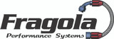 Fragola Performance Systems 200107-BL #8 X 3/8 (#6) PUSH LOCK END STR, BLACK