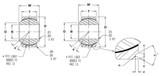 FK Bearing WSSX10T Wide Series Spherical Bearing 0.625 x 1.1875 Teflon Liner