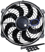 ALLSTAR PERFORMANCE ALL30076 Electric Fan 16in Curved Blade