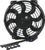 ALLSTAR PERFORMANCE ALL30070 Electric Fan 10in Curved Blade