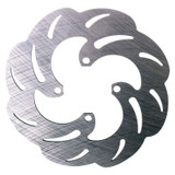 JOES RACING PRODUCTS 25410 Slotted/Scalloped Brake Rotor Quarter Midgets