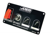 JOES Racing Products 46120 PANEL-FLIP UP/IGN./ START BUTTON/ 2 ACCESSORY SW. & R