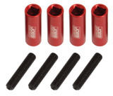 JOES Racing Products 34352 1/4-28 VALVE COVER FASTENER, 4 PACK