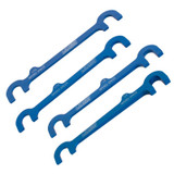 """JOES Racing Products 14250 A-ARM SPACER KIT, 6"""" CENTERS, 1/32""""-1/4"""" TAPER"""