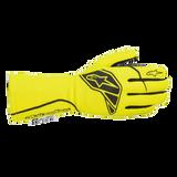 Alpinestars 3551620-551-2XL Tech-1 Start v2 Glove Pair Yellow/Black Size XXL