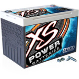 XS Power D1600 16 Volt AGM Battery 675 Cold Cranking Amps Top Terminal