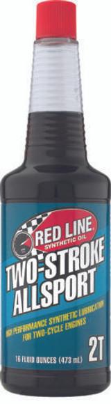 REDLINE OIL 40803 Two Stroke Allsport Oil - 16oz Bottle