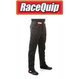 RaceQuip 122002 Multi Layer Racing Driver Fire Suit Pants; Black Small