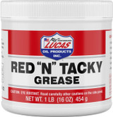 """Lucas Oil 10574 Red """"N"""" Tacky Grease - 16 oz tub"""