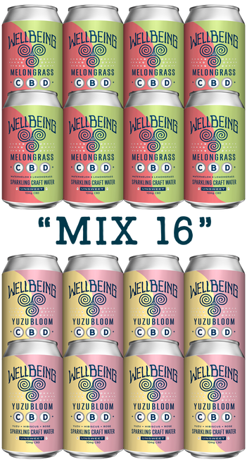 Mix 16 (8 MelonGrass / 8 YuzuBloom)