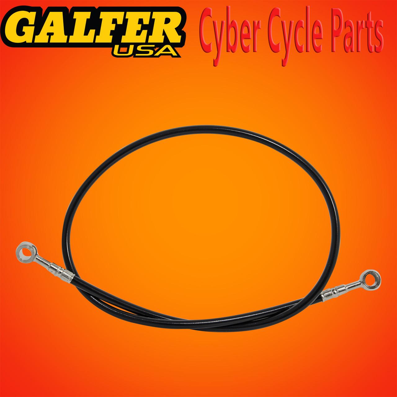 Galfer 36 inch Black rear extended brake line