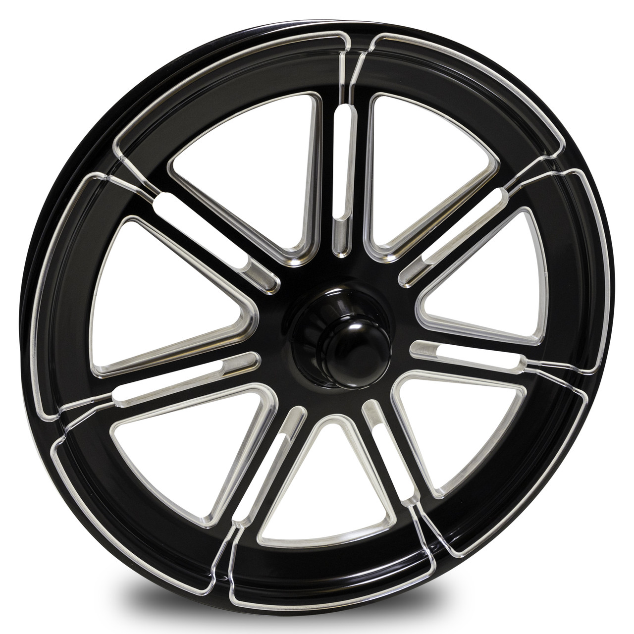 Valor Spindle Mount Dragster Front Drag Racing Wheels