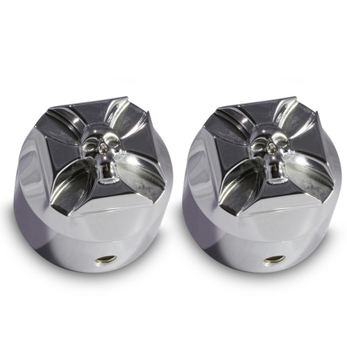 Harley Chrome Front Axle Covers