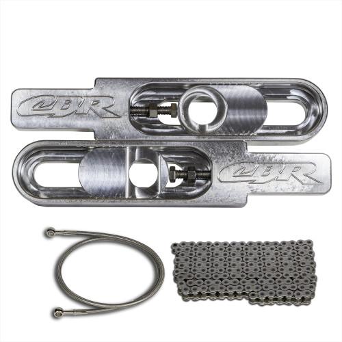 Honda CBR  swingarm extensions