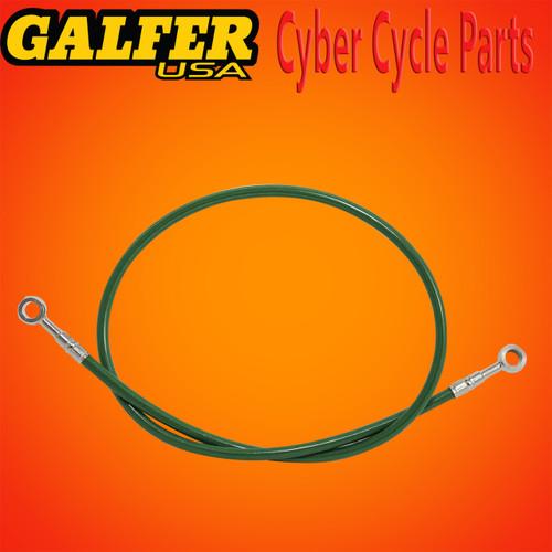 Galfer 36 inch Green rear extended brake line