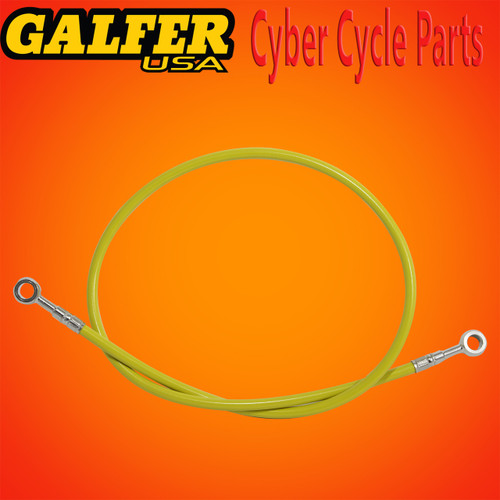 Galfer 36 inch Yellow rear extended brake line