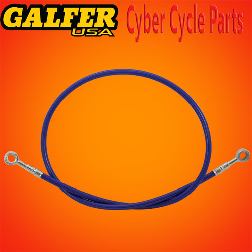 Galfer 36 inch Blue rear extended brake line