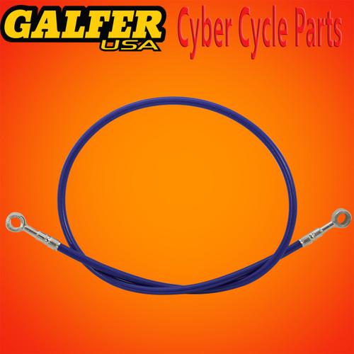 Galfer 36 inch Blue rear extended brake line