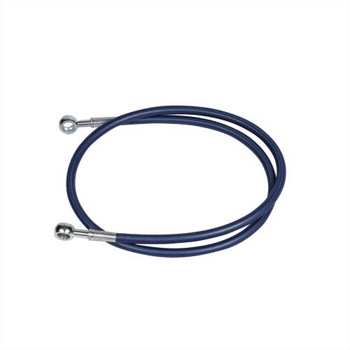 36 inch Blue rear extended brake line