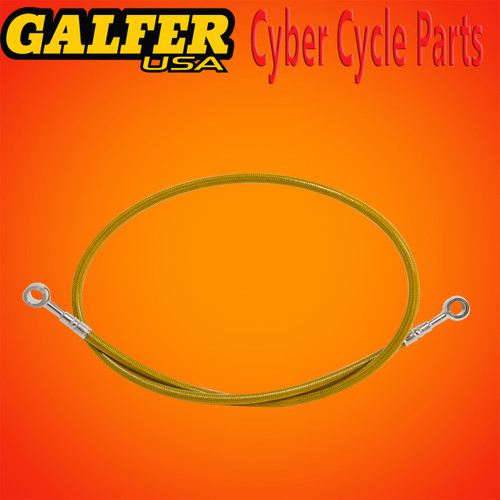 Galfer 36 inch Gold rear extended brake line