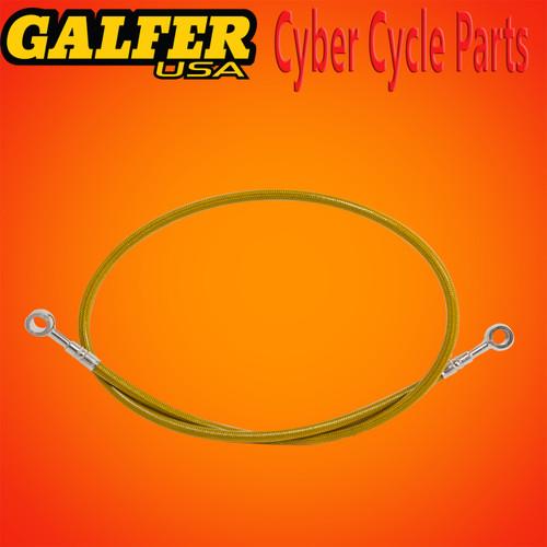 Galfer 36 inch Gold rear extended brake line