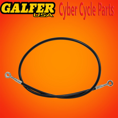 Galfer 36 inch Black rear ABS extended brake line