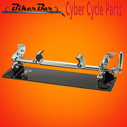B&W Biker Bar Strapless Motorcycle Removable Clamp Bar MC2303 Sportster