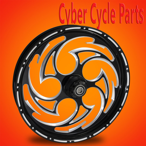 Predator LD  Black Contrast Road Glide Wheel