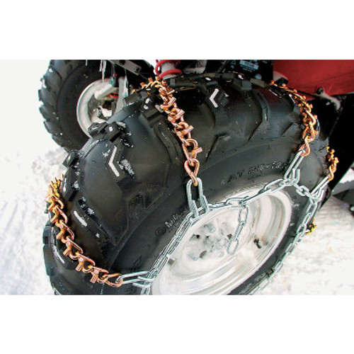 Moose Utility Tire ATV-UTV Chains with 8 Vbar M91-60008