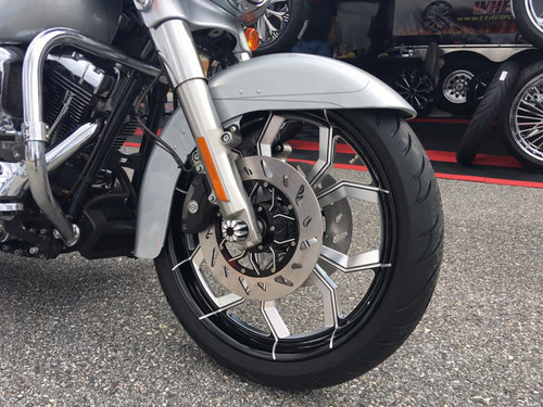Harley Davidson Widow Black Contrast Fatboy Wheel