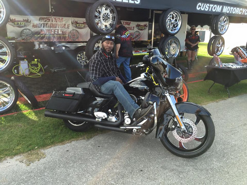 Harley Davidson Maze Black Contrast Trike Wheel