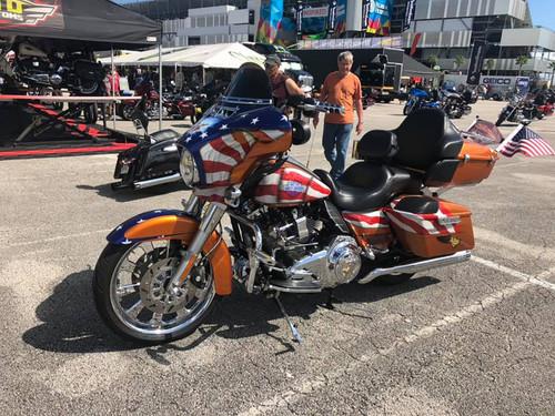 Harley Davidson Monarch Chrome Trike Wheel