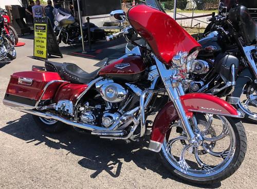 Harley Davidson Indian Chrome Wheels-Slasher