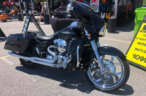 Harley Davidson Indian Chrome Wheels-Widow