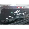 FIREWIRE LED BACK WINDOW STROBE KIT IS PRACTICALLY INVISIBLE WHEN NOT IN OPERATION.
