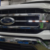 FIREWIRE LED 15 INCH SAFETY WIRE INSTALLED IN THE GRILL OF A TRUCK